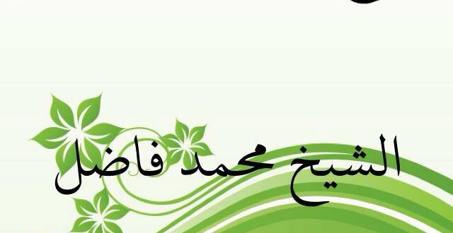 الشيخ محمد فاضل بن مامين