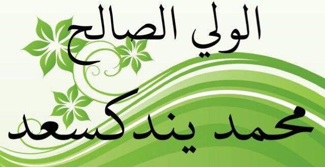 الولي الصالح محمد يندكسعد / تاريخ موريتانيا الإيجابي