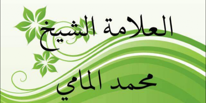العلامة الشيح محمد المامي / تاريخ موريتانيا الإيجابي